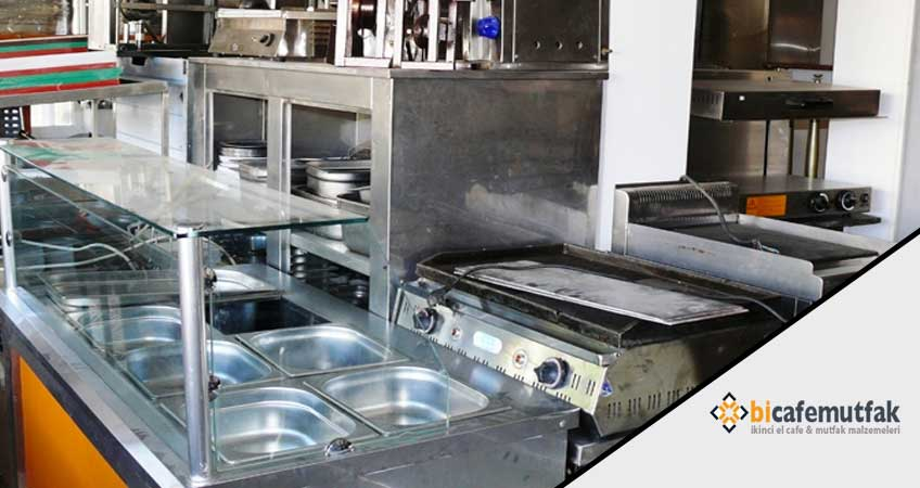 2.el endüstriyel mutfak malzemesi alanlar